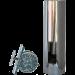 ABCAT® houtrookfilter Ø150mm – 50cm
