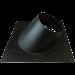 Dakplaat voor dubbelwandig Ø150/200mm – hellend 20-45°
