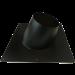 Dakplaat voor dubbelwandig Ø150/200mm – hellend 5-25°