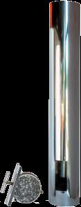 ABCAT® houtrookfilter Ø125mm – 100cm
