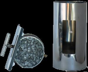 ABCAT® houtrookfilter Ø125mm – 30cm