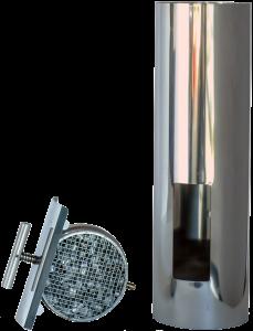 ABCAT® houtrookfilter Ø130mm – 50cm