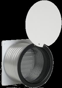 Luchttoevoer set Ø125mm (wit)