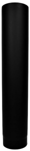 Dikwandige pijp Ø150mm - 75cm (zwart)