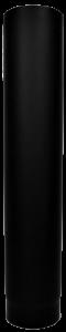 Dikwandige pijp Ø130mm - 75cm (zwart)