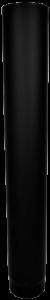 Dikwandige pijp Ø130mm – 100cm (zwart)