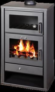 Floris Bella houtkachel met oven