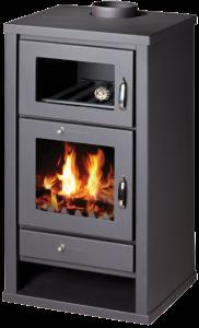 Floris Pablo houtkachel met oven