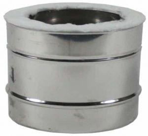Holetherm dubbelwandige pijp Ø80/130mm – 20cm