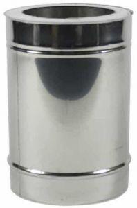 Holetherm dubbelwandige pijp Ø100/150mm – 33cm