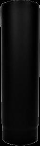 Dikwandige pijp Ø130mm – 50cm (zwart)