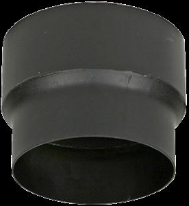 Dikwandig verloopstuk – Ø125mm naar Ø130mm